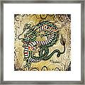 Asian Dragon Framed Print