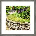 Beautiful Garden Framed Print by Boon Mee