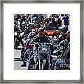 Bike Week Framed Print