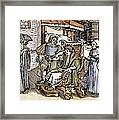 Bloodletting, 1540 Framed Print
