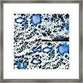 Blue Ice Framed Print