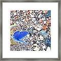 Blue Visions Framed Print
