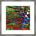 Brook Texture 17 Framed Print