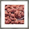 Caramelized Peanuts Framed Print