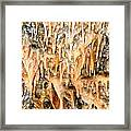 Cave Formations 2 Framed Print