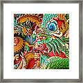 Chinese Temple Detail Framed Print