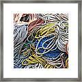 Colorful Lines Framed Print