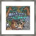 Colours Of Africa Framed Print