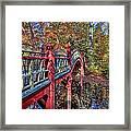 Crim Dell Bridge Framed Print