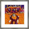 Day Of The Dead Altar, Mexico Framed Print