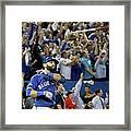 Division Series - Texas Rangers V Framed Print