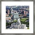 Downtown Providence Rhode Island Framed Print
