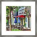 Downtown Worthington Framed Print