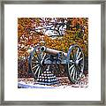 Facing Pickettes Charge Framed Print