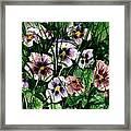 Flower Study I Framed Print