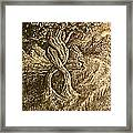 Growing Together Framed Print by Jacquelyn Roberts