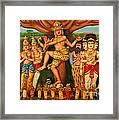 Hindu God Framed Print by Niphon Chanthana