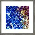 Hydroquinone Microcrystals Color Abstract Art Framed Print