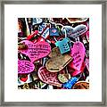 If You Love It Lock It  Framed Print