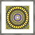 Infinity Gateway Nine Kaleidoscope Framed Print