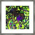Interstate 10- Exit 259- 22nd St/ Star Pass Blvd Underpass- Rectangle Remix Framed Print