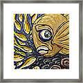 Responsible Fish Framed Print