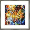 Lights In The Night Framed Print