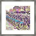 London Bikes Framed Print