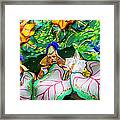 Mardi Gras Float Framed Print