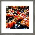 Mejillones A La Vinagreta Framed Print