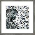 Mineral Daibutsu Framed Print