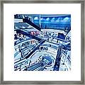 Modern Shopping Mall Interior Framed Print