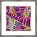Musical Wonderland Framed Print
