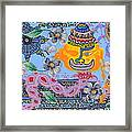 Nirvana Equals Absolute Happiness Framed Print