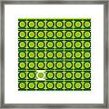 No120 My Green Lantern Minimal Movie Poster Framed Print by Chungkong Art