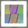 Observe Full Color Framed Print