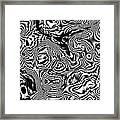 Organic Optical Illusion 1 Framed Print by The Art of Marsha Charlebois