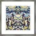Patterns In Stone - 84 Framed Print