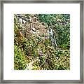Photeng Waterfall Framed Print