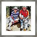 Rest Stop At Coorong Framed Print