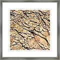 Rock Wall Framed Print