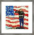 So Proudly They Hailed  Framed Print