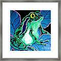 Speckled Frog Framed Print