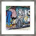 Street Art Valparaiso Chile 15 Framed Print
