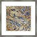 Texture Of Marble Background Closeup  Framed Print