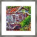 The Camp Bayou Framed Print