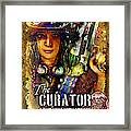The Curator Framed Print