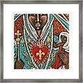 Vierge Noire De Paris Framed Print