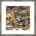 View Of The Town Loja In Granada Province Framed Print