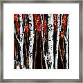 Winter Walk Framed Print by Vickie Warner